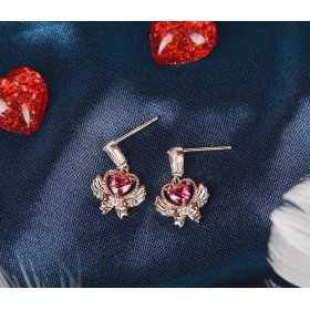 Authentic Saint Tail Rose gold earring