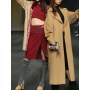 S/S2020 BIG FITTED BEIGE COAT