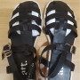 Korean made ATT Black Sandal in 235 size