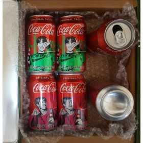 BTS Coca Cola Can Set