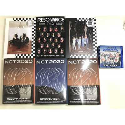 NCT albums ( unsealed) 7 as 1 Set