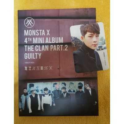 MONSTA X 4th Mini Album (unsealed)