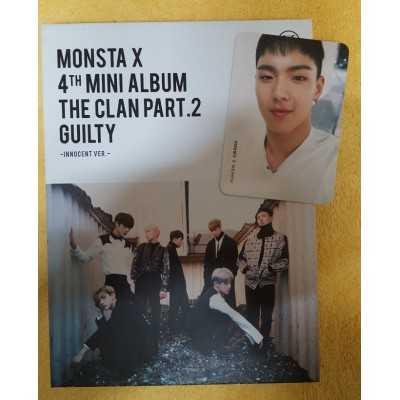 MONSTA X 4th Album from Korean Used market palce cocomarket