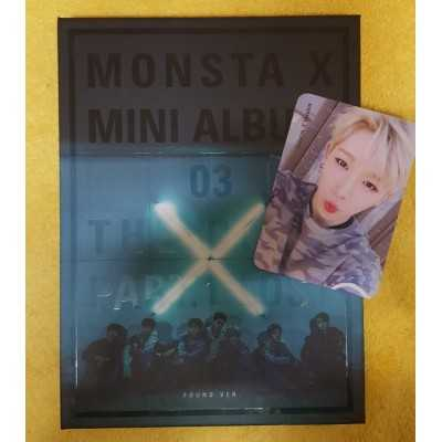 Unsealed MONSTA X 3th. Album from cocomarket used market from Korea